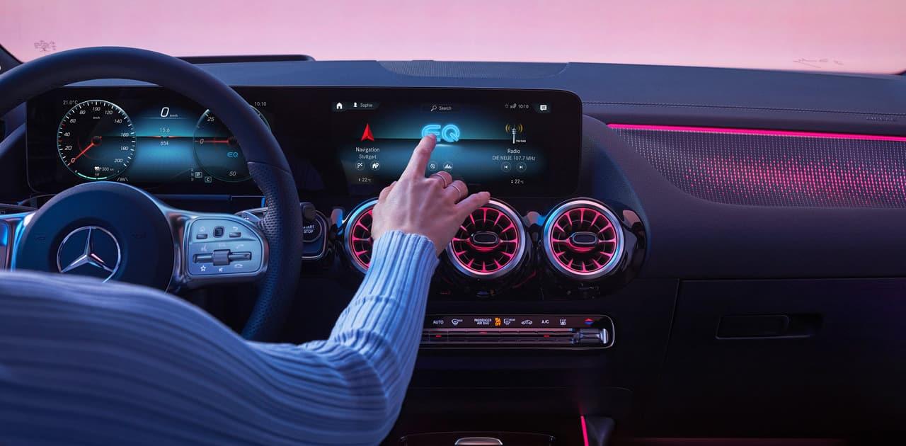Mercedes Benz EQ Interior