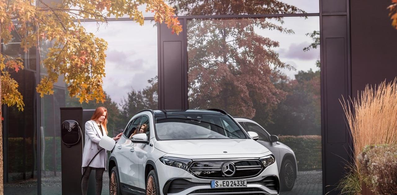 Mercedes Benz EQA 2021