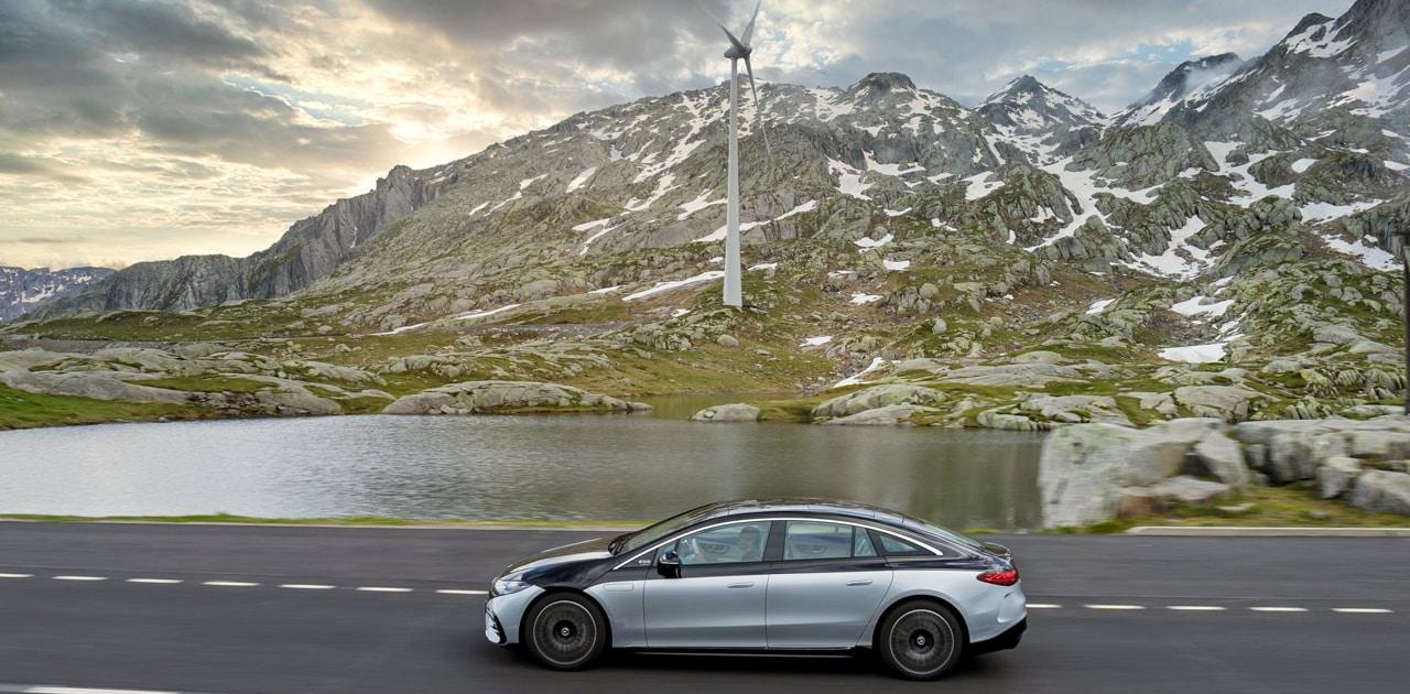 Mercedes Benz EQS 2021