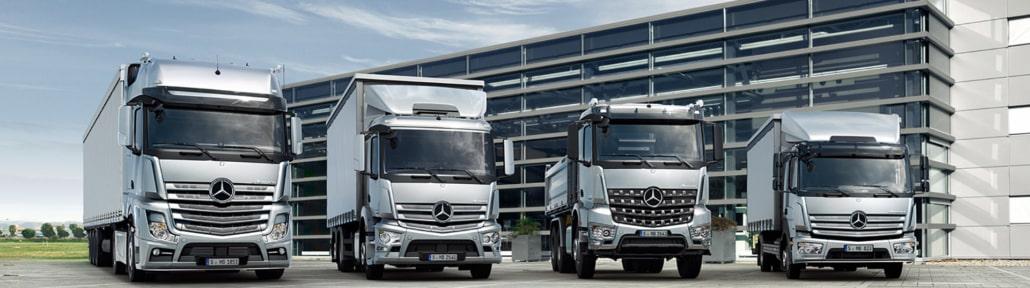 Mercedes LKW Modelle